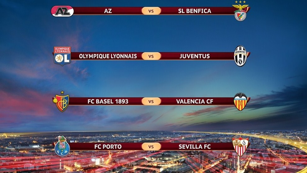 fixture cuartos de final europa league 2014