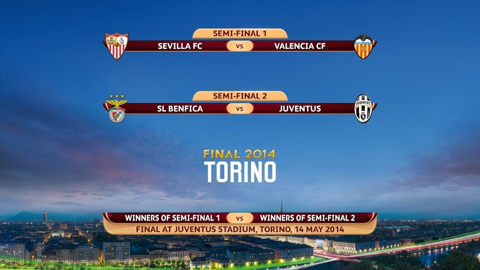 semifinales europa league 2014