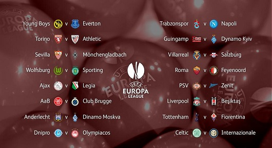 dieciseisavos de final europa league 2015