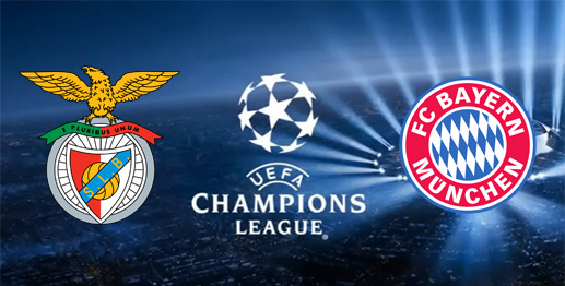 benfica bayern munich champions league 2016