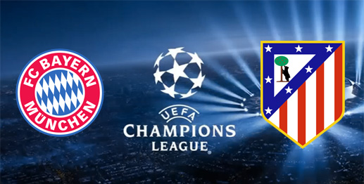 bayern munich atletico de madrid champions league 2016