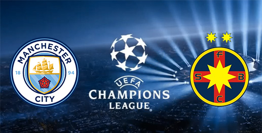 Manchester City vs Steaua Bucarest en DIRECTO - Champions League 2016