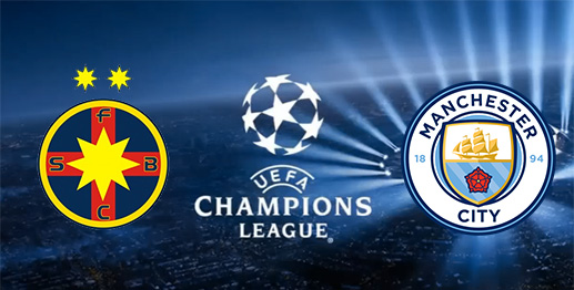 Steaua Bucarest vs Manchester City en DIRECTO - Champions League 2016 Repechaje