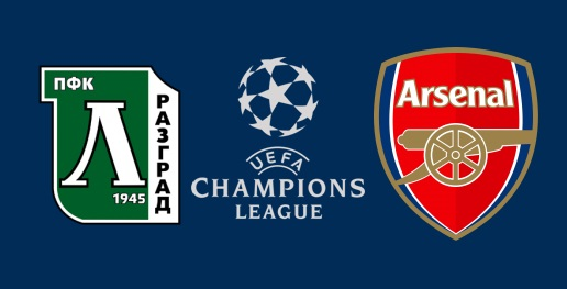 Ludogorets vs Arsenal en DIRECTO - Champions League 2016 Grupo A