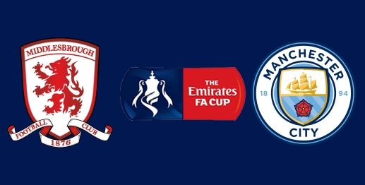 Middlesbrough vs Manchester City en DIRECTO - FA Cup 2016-2017 en DIRECTO Cuartos de Final