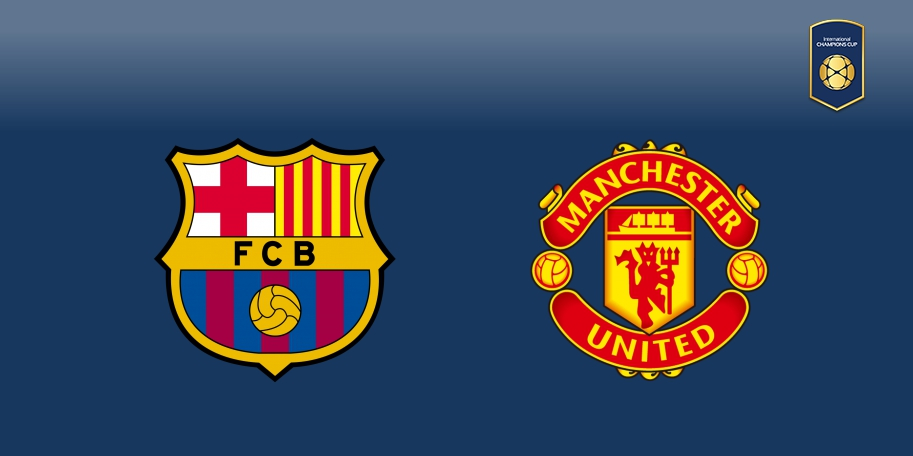 Barcelona vs Manchester United en DIRECTO - International Champions Cup 2017 en DIRECTO