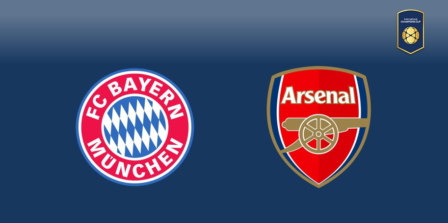 Bayern Múnich vs Arsenal en DIRECTO - International Champions Cup 2017 en DIRECTO