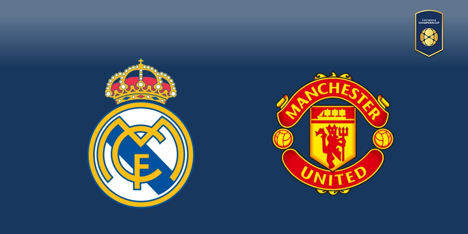 Real Madrid vs Manchester United en DIRECTO - International Champions Cup 2017 en DIRECTO