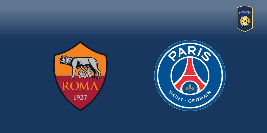 Roma vs PSG en DIRECTO - International Champions Cup 2017 en DIRECTO