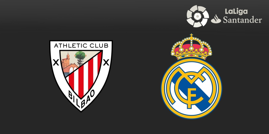 Athletic Club vs Real Madrid en DIRECTO - Liga de España 2017-2018 en VIVO Jornada 14