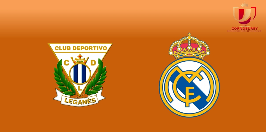 Leganés vs Real Madrid en DIRECTO - Copa del Rey 2017-2018 en VIVO Cuartos de Final