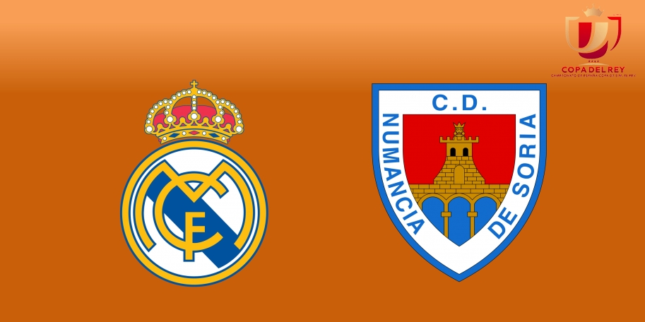Real Madrid vs Numancia en DIRECTO - Copa del Rey 2017-2018 en VIVO Octavos de Final