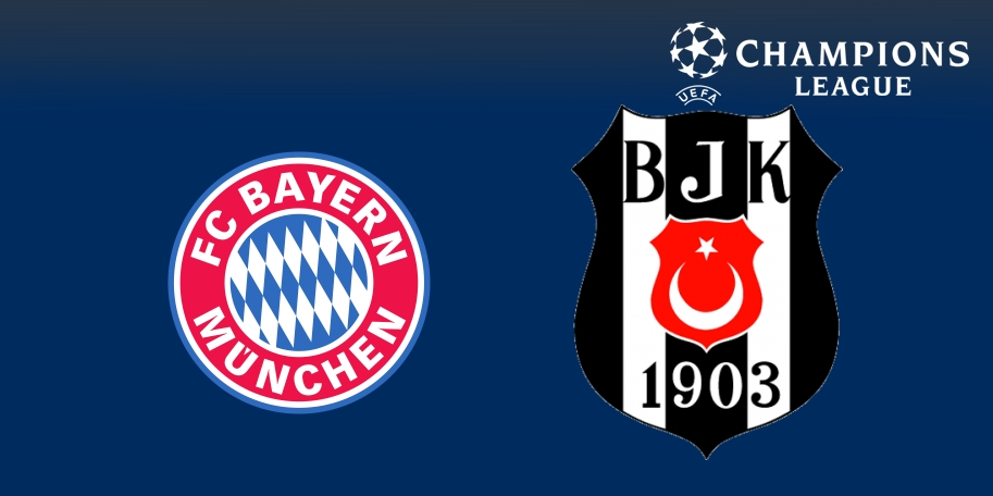 Bayern Múnich vs Besiktas en DIRECTO - Champions League 2017-2018 en VIVO Octavos de Final