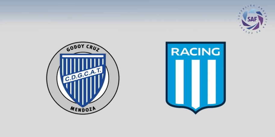Godoy Cruz vs Racing en DIRECTO - Superliga 2017-2018 en VIVO Jornada 17