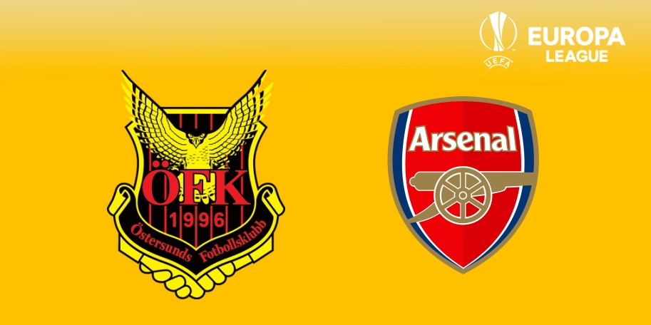 Östersunds vs Arsenal en DIRECTO - Europa League 2017-2018 en VIVO