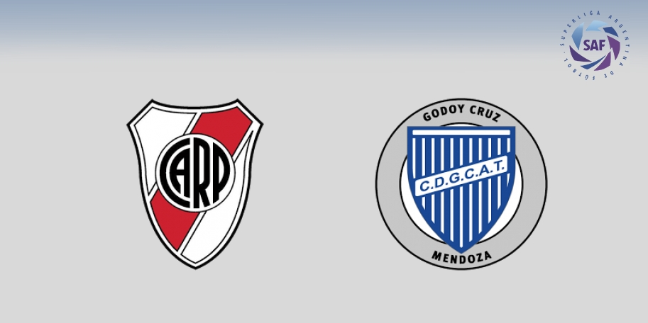 River vs Godoy Cruz en DIRECTO - Superliga 2017-2018 en VIVO Jornada 16