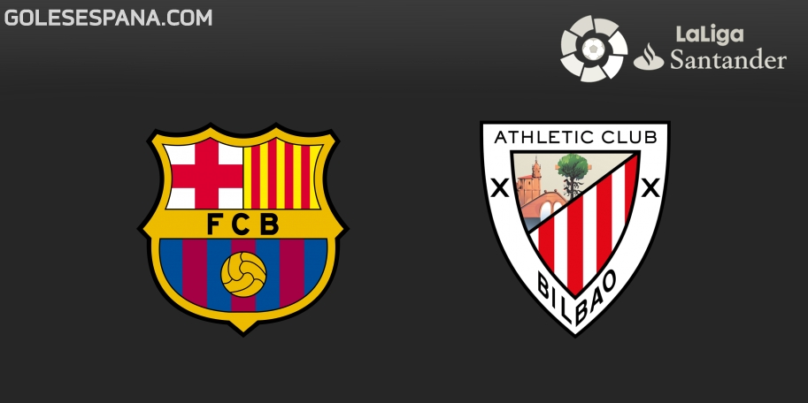 Barcelona vs Athletic Club en VIVO Online - Liga de España 2017-2018 en directo Jornada 29