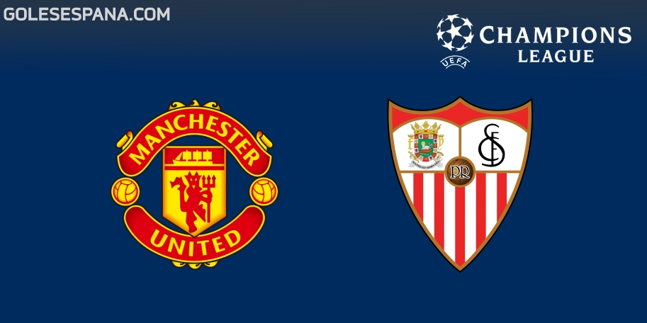 Manchester United vs Sevilla en VIVO Online - Champions League 2017-2018 en directo Octavos de Final