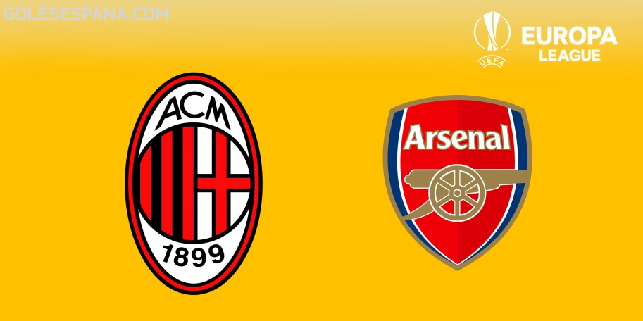 Milan vs Arsenal en VIVO Online - Europa League 2017-2018 en directo Octavos de Final