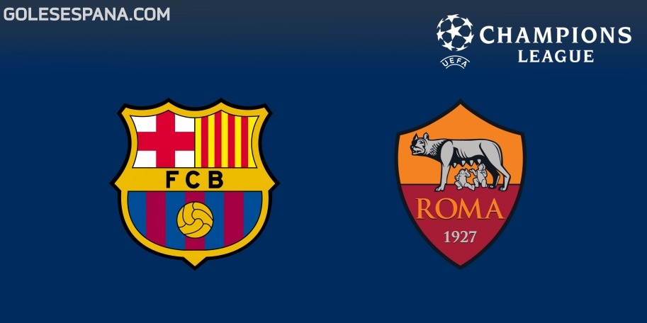 Barcelona vs Roma en VIVO Online - Champions League 2017-2018 en directo Cuartos de Final