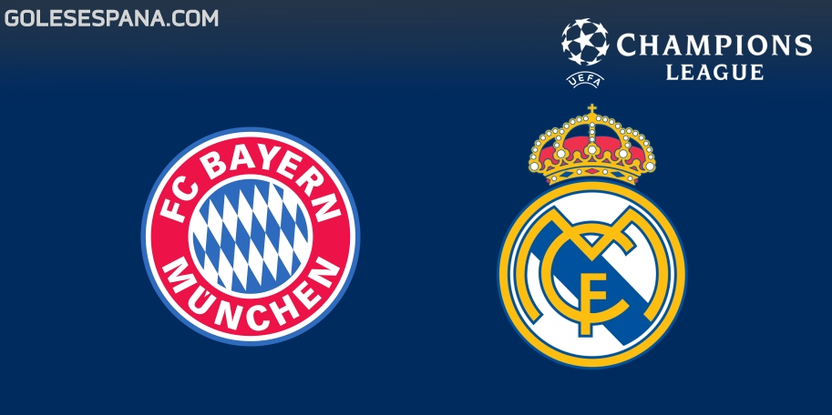 Bayern Munich vs Real Madrid en VIVO Online - Champions League 2017-2018 en directo Semifinal