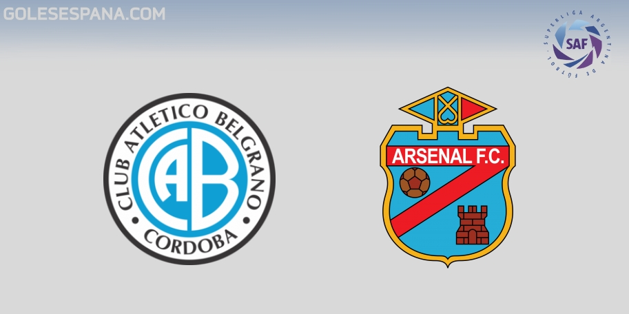 Belgrano vs Arsenal en VIVO Online - Superliga 2017-2018 en directo Jornada 23