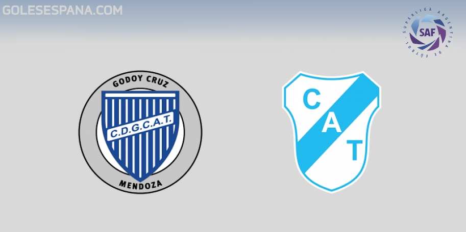 Godoy Cruz vs Temperley en VIVO Online - Superliga 2017-2018 en directo Jornada 23