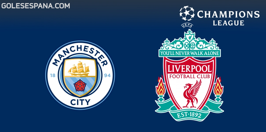 Manchester City vs Liverpool en VIVO Online - Champions League 2017-2018 en directo Cuartos de Final