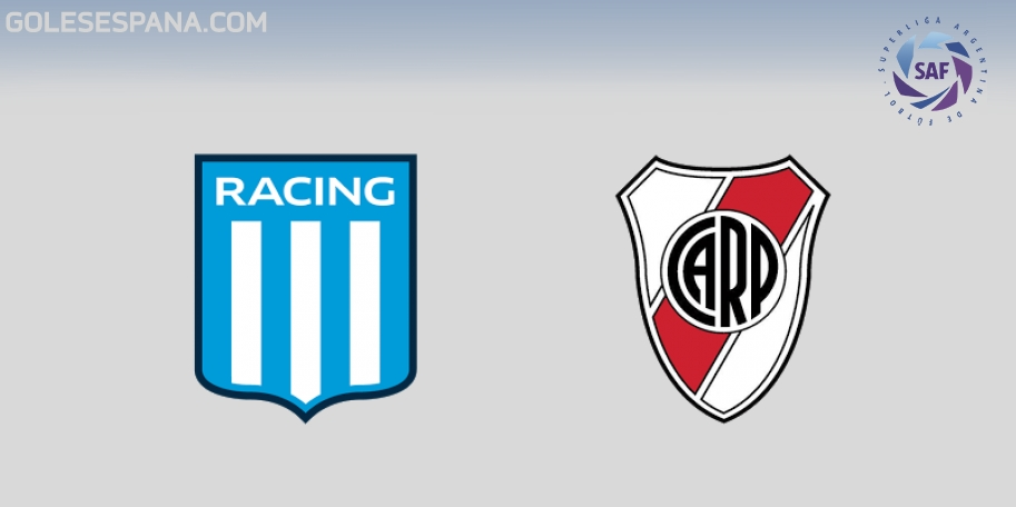 Racing vs River en VIVO Online - Superliga 2017-2018 en directo Jornada 22