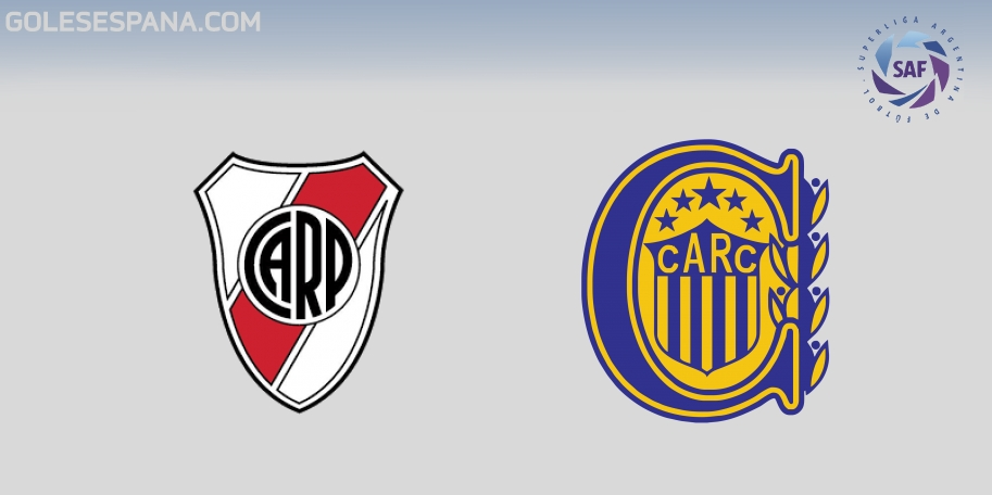 River vs Rosario Central en VIVO Online - Superliga 2017-2018 en directo Jornada 23