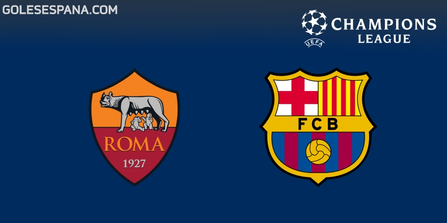 Roma vs Barcelona en VIVO Online - Champions League 2017-2018 en directo Cuartos de Final