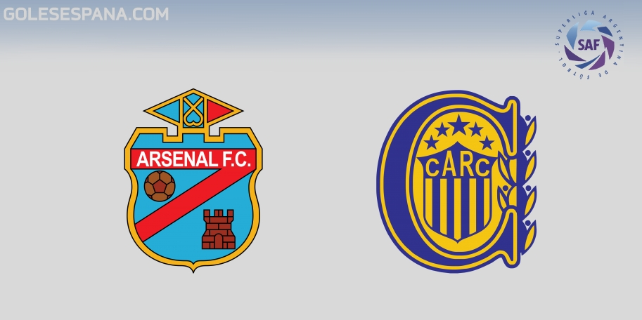 Arsenal vs Rosario Central en VIVO Online - Superliga 2017-2018 en directo Jornada 26
