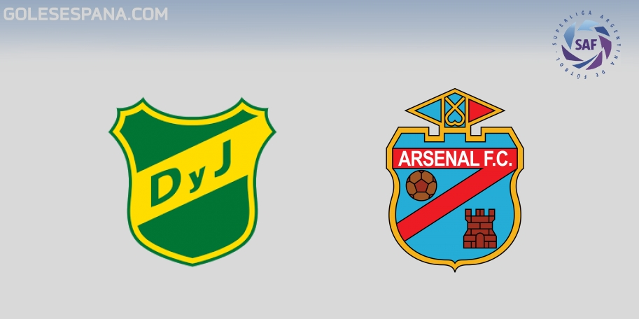 Defensa y Justicia vs Arsenal en VIVO Online - Superliga 2017-2018 en directo Jornada 27