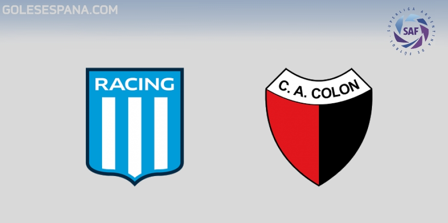 Racing vs Colón en VIVO Online - Superliga 2017-2018 en directo Jornada 27