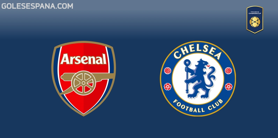 Arsenal vs Chelsea en VIVO Online - International Champions Cup 2018 en directo
