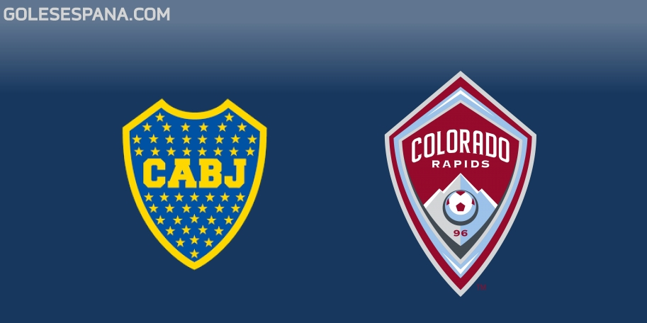 Boca vs Colorado Rapids en VIVO Online - Amistoso 2018 en directo
