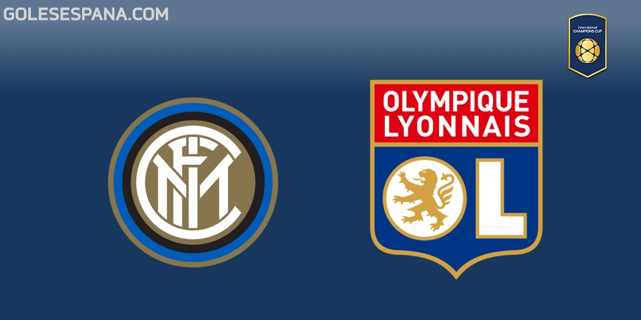 Inter vs Lyon en VIVO Online - International Champions Cup 2018 en directo