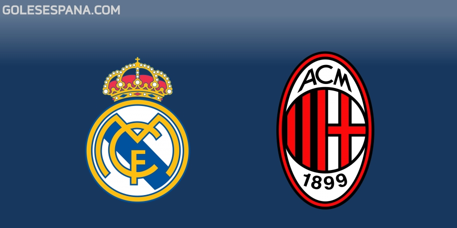Real Madrid vs Milan en VIVO Online - Amistoso 2018 en directo
