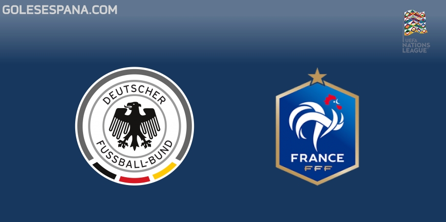 Alemania vs Francia en VIVO Online - UEFA Nations League 2018-2019 en directo Grupo 1