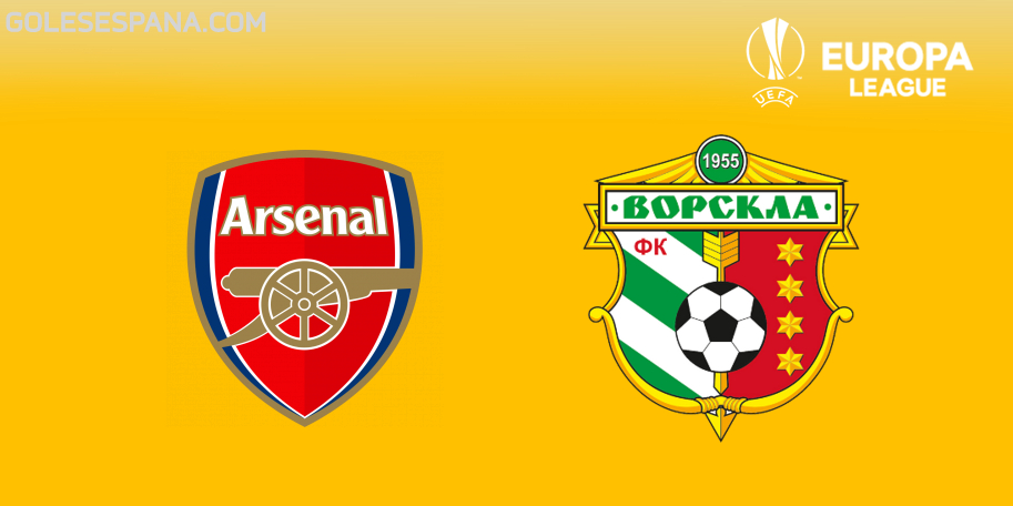Arsenal vs Vorskla en VIVO Online - Europa League 2018-2019 en directo Grupo E