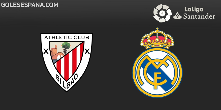 Athletic Club vs Real Madrid en VIVO Online - Liga de España 2018-2019 en directo Jornada 4