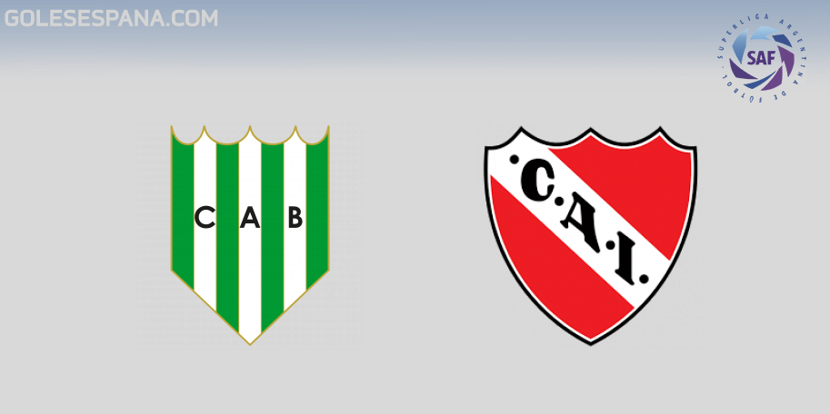 Banfield vs Independiente en VIVO Online - Superliga 2018-2019 en directo Jornada 6