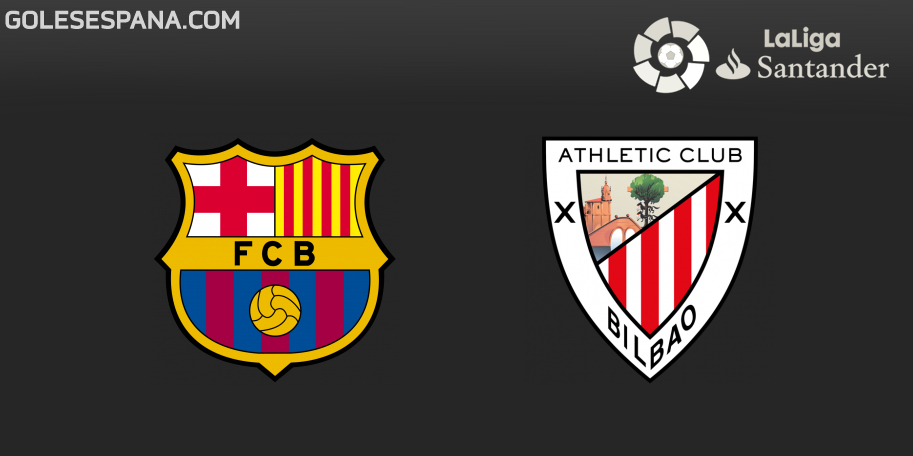 Barcelona vs Athletic Club en VIVO Online - Liga de España 2018-2019 en directo Jornada 7