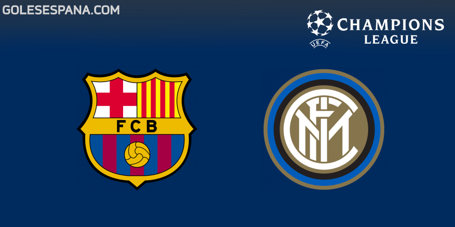 Barcelona vs Inter en VIVO Online - Champions League 2018-2019 en directo Grupo B