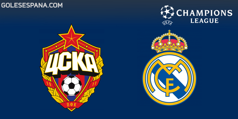 CSKA Moscú vs Real Madrid en VIVO Online - Champions League 2018-2019 en directo Grupo G