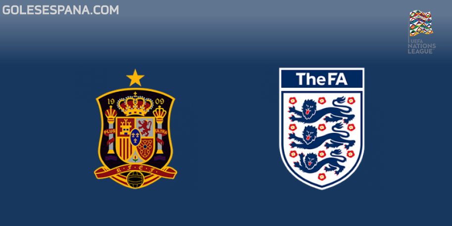 España vs Inglaterra en VIVO Online - UEFA Nations League 2018-2019 en directo Liga A Grupo 4