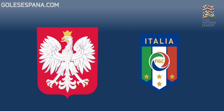 Polonia vs Italia en VIVO Online - UEFA Nations League 2018-2019 en directo Liga A Grupo 3