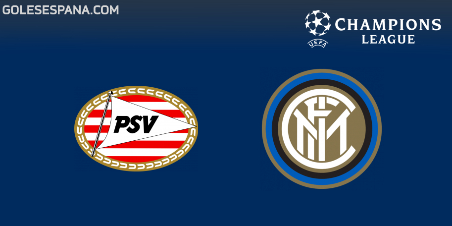 PSV vs Inter en VIVO Online - Champions League 2018-2019 en directo Grupo B