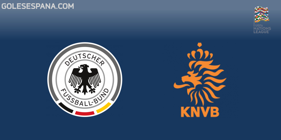 Alemania vs Holanda en VIVO Online - UEFA Nations League 2018-2019 en directo Liga A Grupo 1