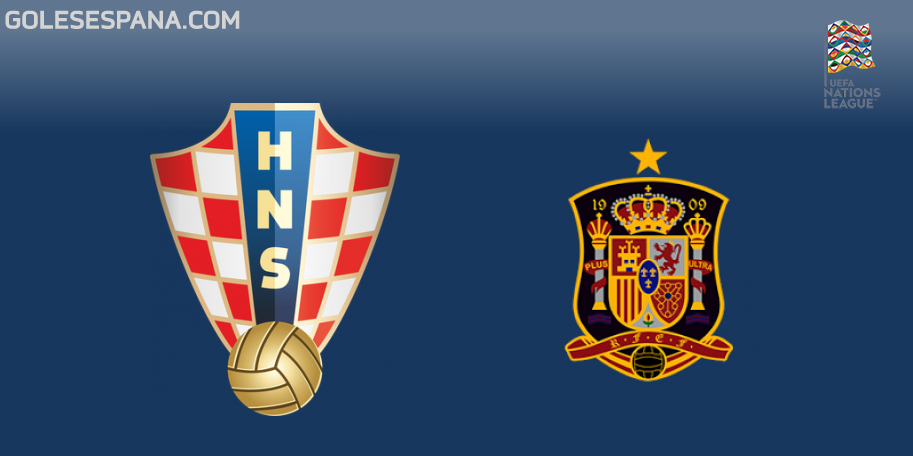 Croacia vs España en VIVO Online - UEFA Nations League 2018-2019 en directo Liga A Grupo 4